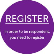 Register to be respondent